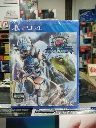 🆕 PS4 Earth Defense Force 5