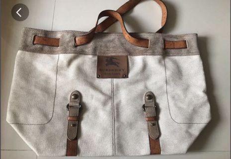 🚚 Burberry Blue Label Tote Bag