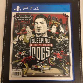 可議!Sleeping Dogs PS4