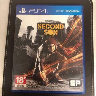 可議!Second Son PS4