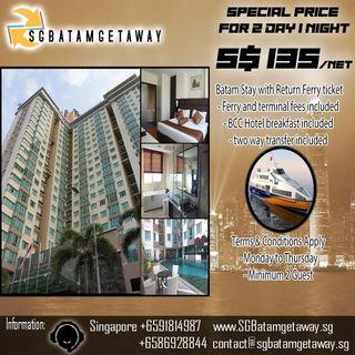 2 Day 1 Night Batam Stay Promotion
