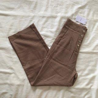 BNWT TEM Nalya high waisted button pants