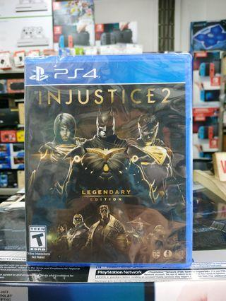 🆕 PS4 Injustice 2 Legendary Edition