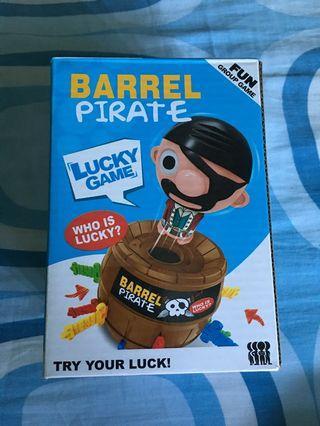 🚚 Pirate Barrel Game