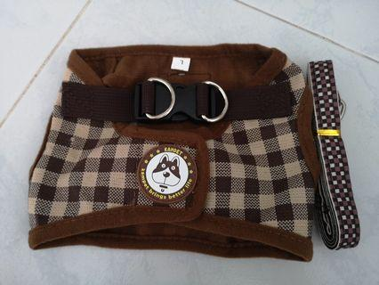 Brand new brown harness
