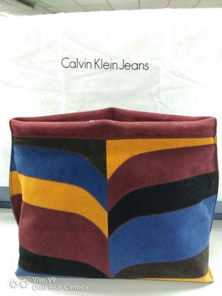 29a711185057 Authentic Calvin Klein Large Clutch bag