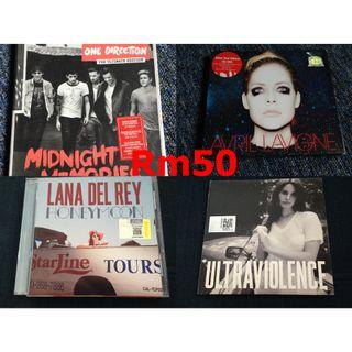 Music Movie Cd, Vcd, Dvd To Let Go : Each Rm50