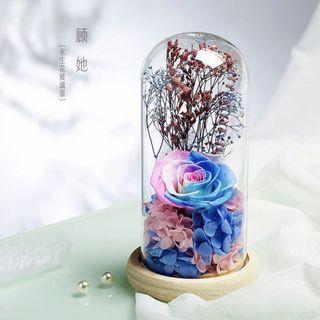 INSTOCK WHIMSICAL PRESERVED ROSE