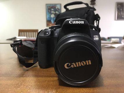 Canon 650 D excellent condition