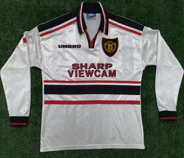 Original Manchester United 1997 away jersey jersi MU