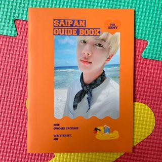 BTS JIN GUIDE BOOK