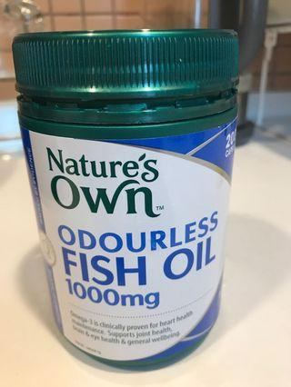 Nature's Own Odourless Fish Oil 無腥味魚油丸