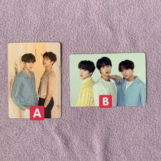 BTS OFFICIAL MINI PHOTOCARD LOVE YOURSELF CONCERT