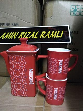 Set teko nescafe