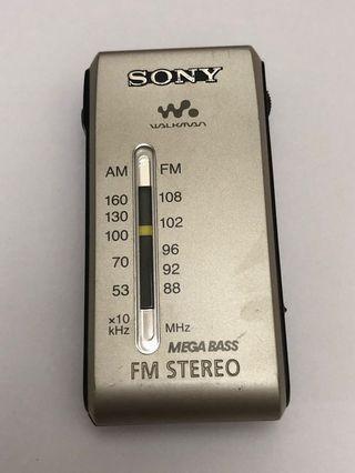 Sony SRF-S84收音機