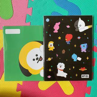 BT21 CHIMMY & ALL CHARACTER NOTEBOOK