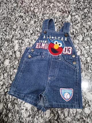 Sesame street elmo jumpsuit