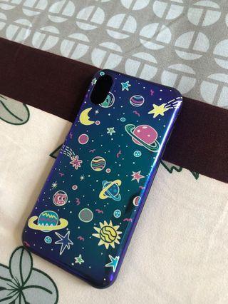 Planet case iphone X