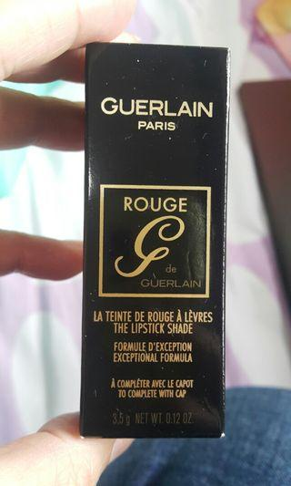 凡購可以$120換購Guerlain paris rouge 唇膏
