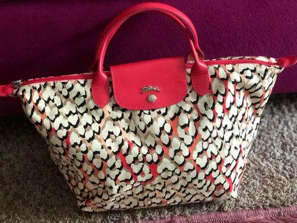 Longchamp limited edition Coral panther