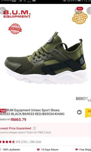 BUM size 38 unisex shoes