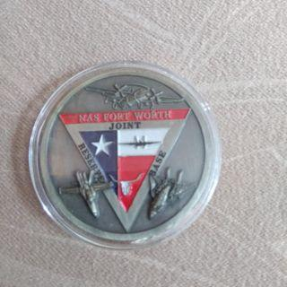 🚚 Naval Air Station Coin from Joint Reserve Base, Fort Worth Texas