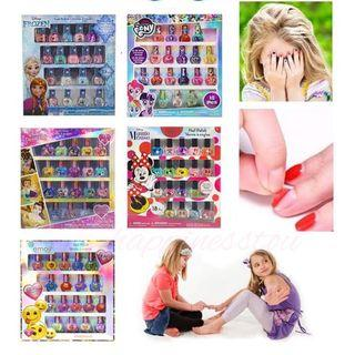 Townleygirl Peel-Off Nail Polish Deluxe Present Set for Girls (18 Colors) 可撕式指甲油 (1套18支)