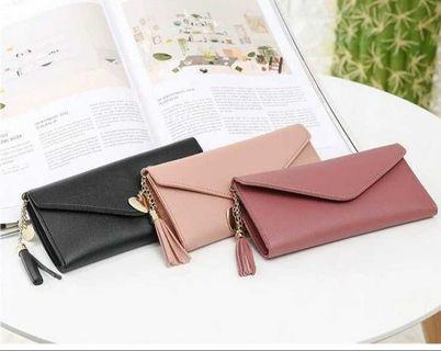 Korean Ladies Classy Elegant Wallet (Long/Short)