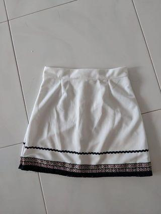 White Skirt #EndgameYourExcess