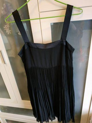 b+ab黑色晚裝裙