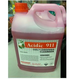 Air Cond Coil Cleaner (Chemical) 5Liter Concentrated 100% Made In Malaysia