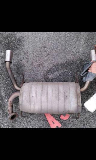 SUZUKI SWIFT SPORT ZC31S Stock Exhaust