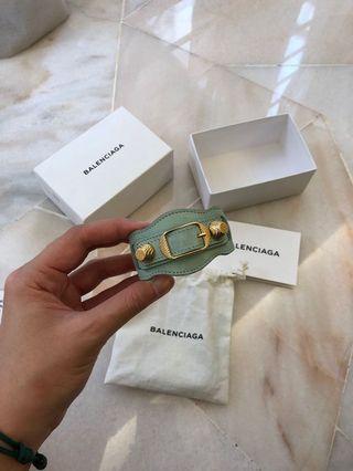 Balenciaga Bracelet (Leather Cuff)