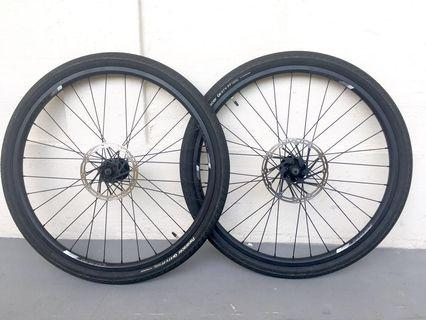 "Used Bicycle Components — GIANT 26"" Wheelset"