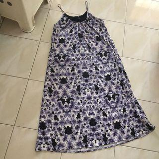 H&M floral long dress