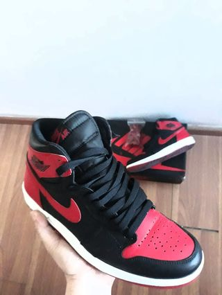 best deals on 5d040 903b7 Jordan 1 high the return   Jordan 1.5 bred