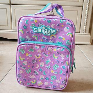 Smiggle Compact Lunch Box Purple