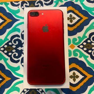 🚚 iPhone 7plus Red