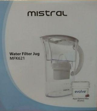 Mistral Water filter Jug 2 Litres