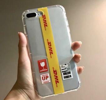 DHL iPhone case 手機殼  (for iPhone XS/XS MAX/XR/X/8/7/6)