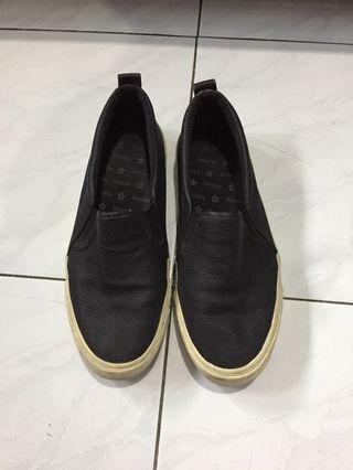 Bershka Slip On Black