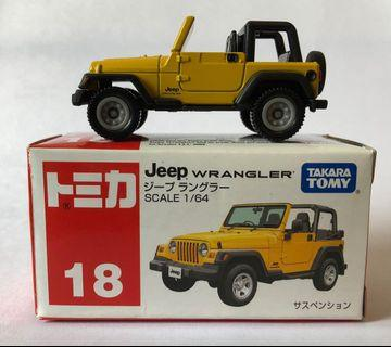 Tomica 18 Jeep