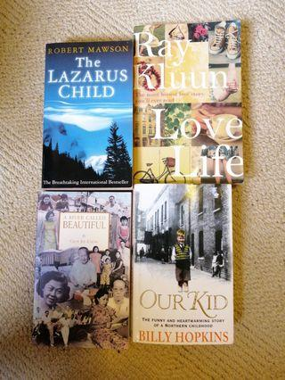 The Lazarus child, Love life, A river called beautiful, Our kid