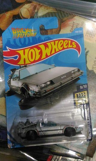 Hotwheels Back To The Future