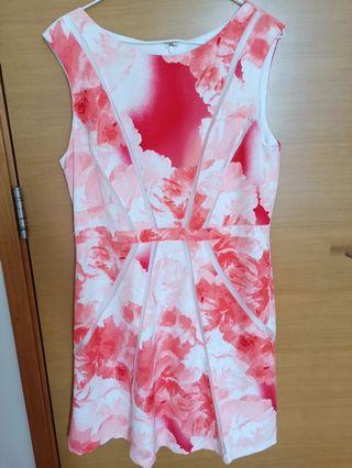 Preloved Pink Floral Dress