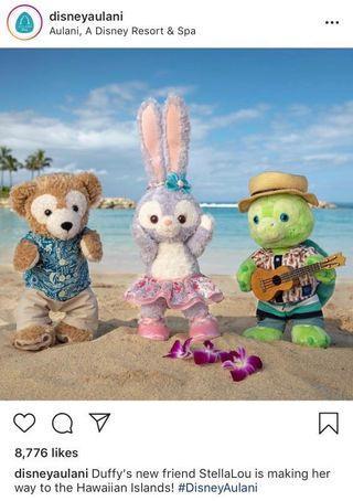 《美國夏威夷迪士尼限定代購》Disney Stellalou即將登場
