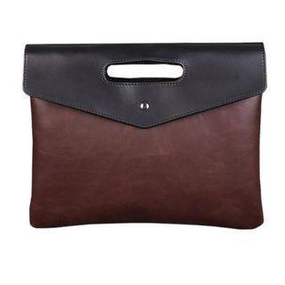 PU Leather Document Hand Bag