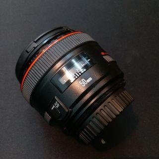 Canon 50mm f1.2 L UA
