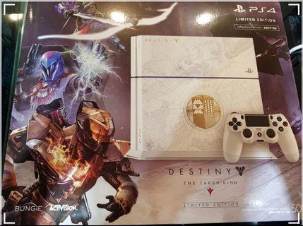 PS4 1206 1TB upgraded Destiny Limited Edition