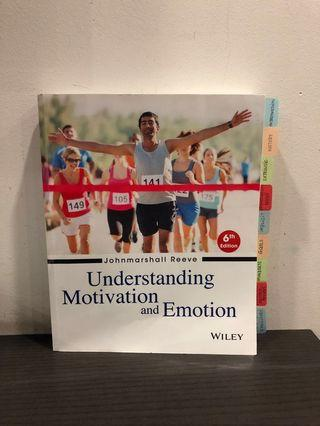 Understanding Motivation & Emotion by Johnmarshall Reeve